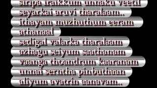 oru murai-mupoluthilum un karpanai(HD) song lyrics.flv