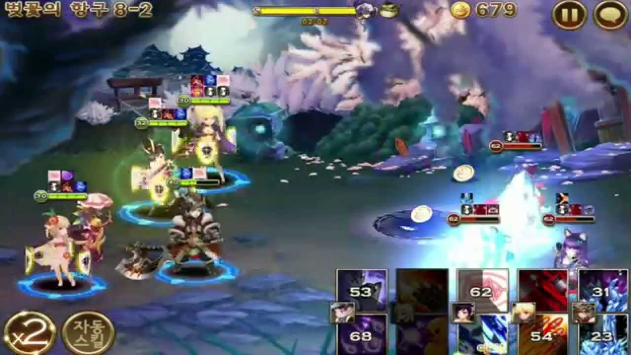 Seven Knights Mission 8-2 Gameplay HD