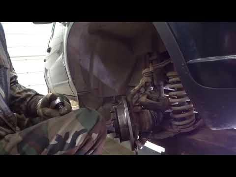 Замена переднего тормозного диска НИВА ШЕВРОЛЕ.Замена ПОДШИПНИКА передней ступицы