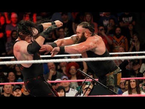 Kane vs. Braun Strowman - WWE Live India (December 9, 2017) *Braun Powerslams Kane Through A Table*