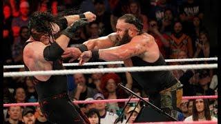 Kane vs. Braun Strowman - WWE Live India (December 9, 2017) *Braun Powerslams Kane Through A Table* thumbnail