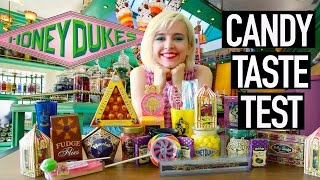 Trying All the Harry Potter Candy from Honeydukes | Harry Potter Haul