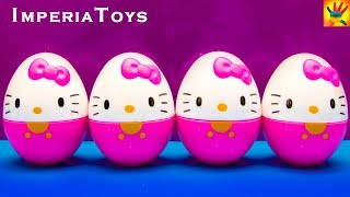 HELLO KITTY HELLO KITTY HELLO KITTY HELLO KITTY Unboxing Eggs