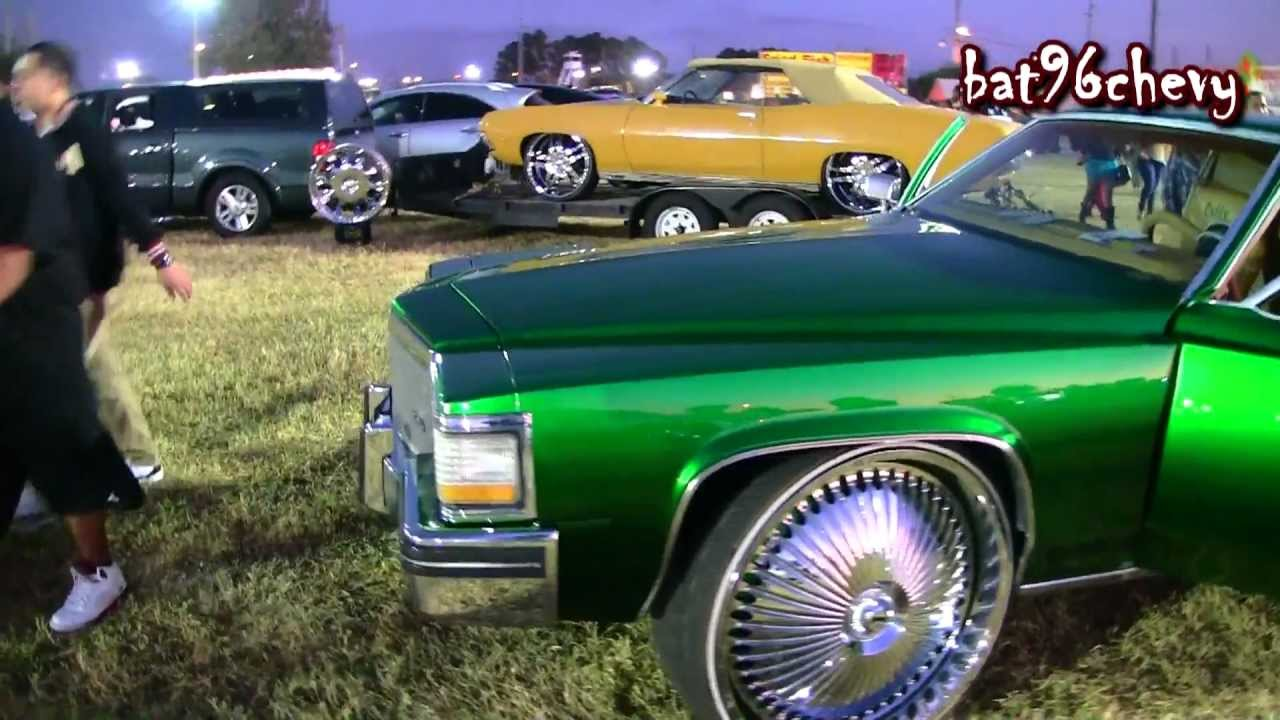 Candy Green 80 S Cadillac Coupe Deville On 28 Quot Dub