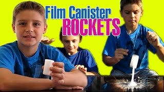 Film Canister Rocket SCIENCE EXPERIMENT