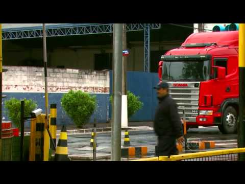 Mega assalto na fábrica da Samsung (Bom dia Brasil - TV Globo)