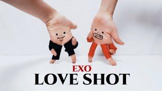 손가락춤) 엑소 - 러브샷 / Finger dance) EXO - Love Shot