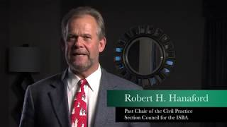 Komie and Associates Video - Robert H. Hanaford Testimonial for ISBA 3rd VP President Candidate Stephen Komie