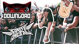 BABYMETAL at Download Festival 2018 - VLOG | CallieSakura