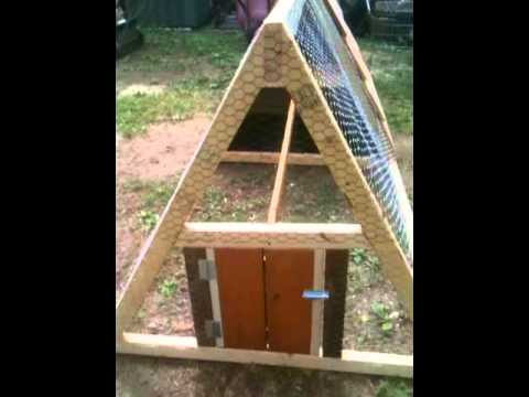 how to build a chicken tractor coop easy fun portable