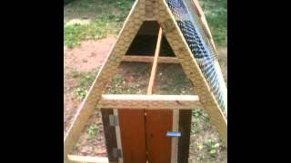 How to build a Chicken Tractor Coop Easy, Fun, & Portable!