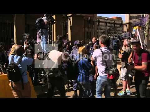 SOUTH AFRICA: OSCAR PISTORIUS LEAVES COURT
