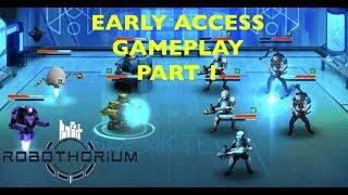 Robothorium: Rogue-Like RPG (macOS) Early Access Gameplay PART 1