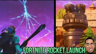Crazy Fortnite Rocket Launch & Crash Landing! Fortnite Battle Royale LIVE STREAM