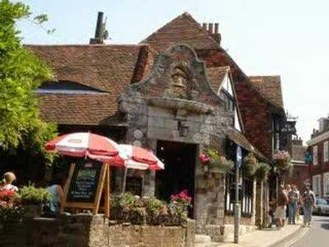South-England: The historical town Rye in Sussex