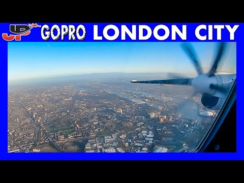 WingView London City to Antwerp Belgium | Fokker 50