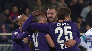 Fiorentina - Sampdoria 3 - 2 - Highlights - TIM Cup 2017/18