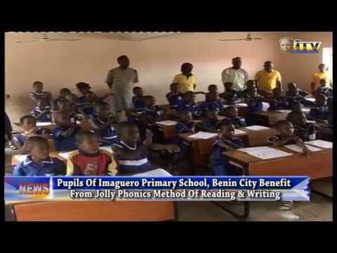 Imaguero Primary School, Benin City Benefit From Jolly Phonics Method Of Reading & Reading