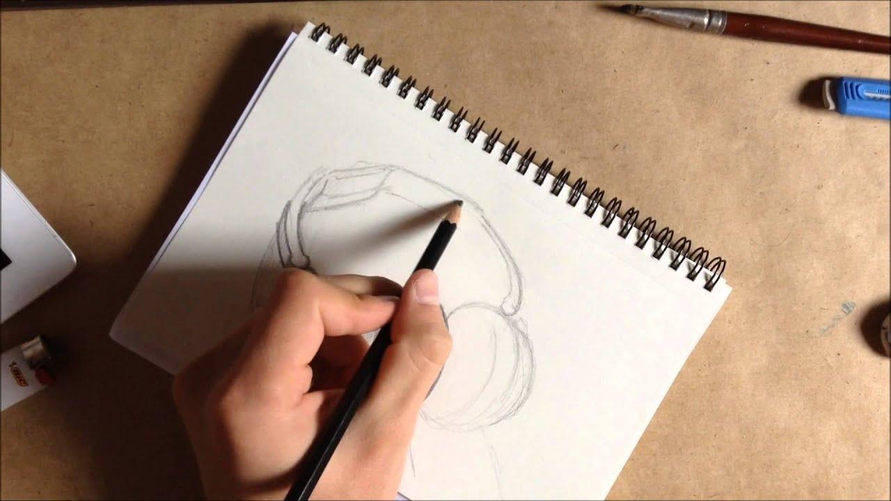 Dessin casque audio youtube - Dessin casque moto ...