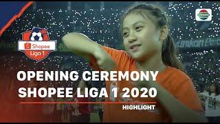 Meriah! Aksi Tiktok Satukan Maskot Seluruh Tim Dalam Opening Ceremony Shopee Liga 1 2020