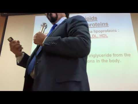 Biochemistry 3 ; physical therapy ; plasma lipoproteins lec 1 Dr Samuel