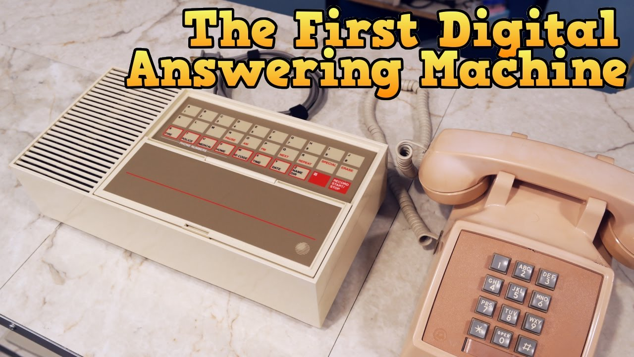 The first all-digital answering machine, the Telstar Call Control System