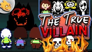 Who Is The Real Villain Of UNDERTALE? Undertale Theory | UNDERLAB