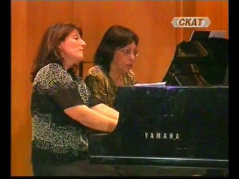 "Ariette (Cherubino) - Mozart's opera ""Marriage of Figaro"" : Emilia Mihaylova & Valentina Seferinova"