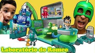 Laboratório do Romeo dos PJ Masks | PJ Masks Pretend Play | PJ Mask