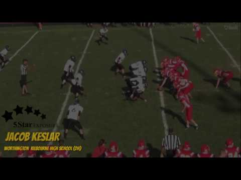 Jacob Keslar - Worthington Kilbourne High School (OH) Custom Hightlight Tape