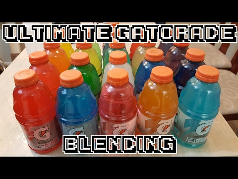 Ultimate Gatorade Blending - Blendurrr