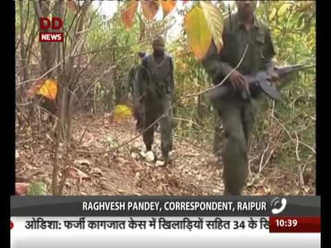 Chhattisgarh: Encounter underway between security forces & naxals in Bastar
