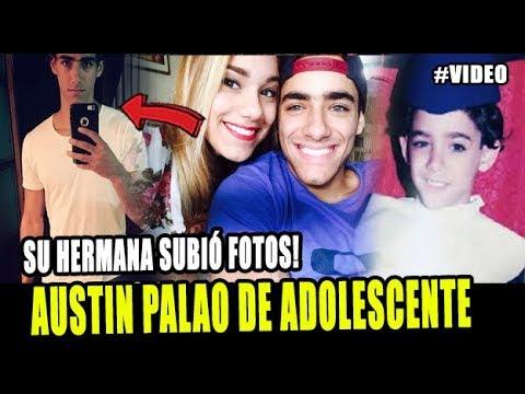 HERMANA DE AUSTIN PALAO SUBIÓ FOTOS INÉDITAS DEL COMBATIENTE EN SU ADOLESCENCIA