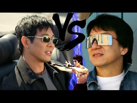 Jet Li VS Jackie Chan! ☯ - Badass Martial Arts | Wushu Versus Southern Style. Fights & Training.
