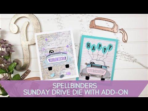 Spellbinders Sunday Drive Die Set