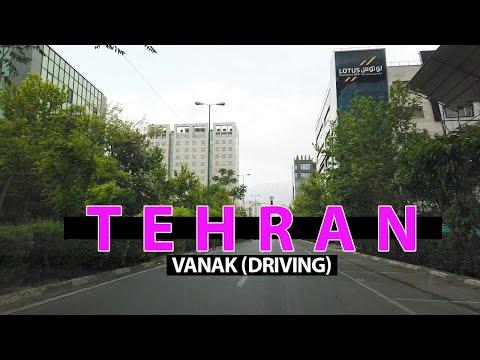 TEHRAN / Vanak driving (رانندگی در ونک ) 2021