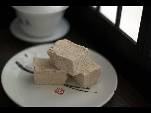 香甜松子糕-how-to-make-pine-nuts-rice-cake -vegan&gluten-free