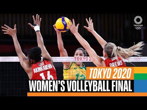 Brazil 🇧🇷 vs USA 🇺🇸 | Women's Volleyball Gold Medal Match | Tokyo Replays