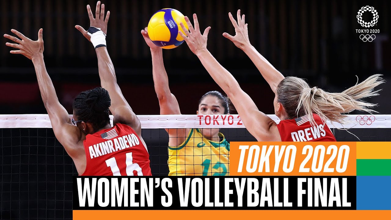 Download Brazil 🇧🇷 vs USA 🇺🇸 | Women's Volleyball Gold Medal Match | Tokyo Replays