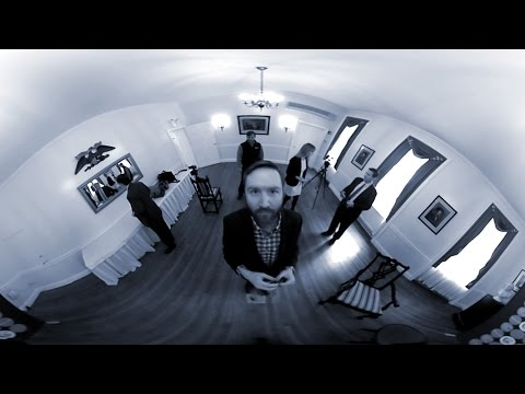 In 360°, my interview setup with Ted Cruz