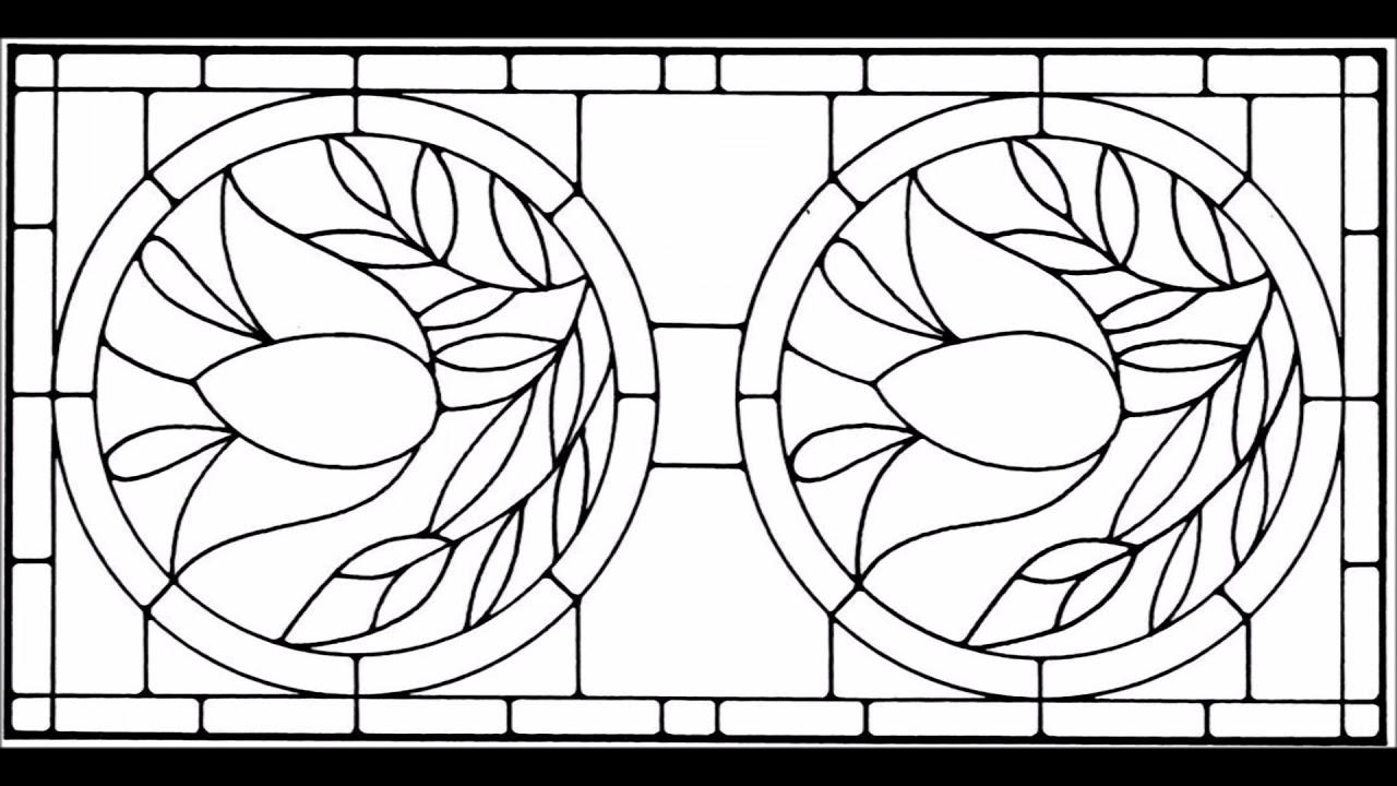 Plantillas Vitral Vidrieras