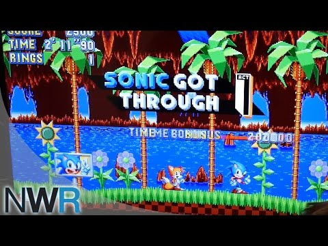 Sonic Mania Interview with Aaron Webber (PAX East 2017)