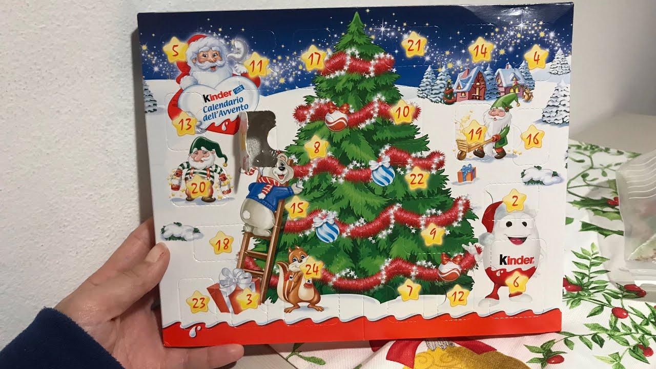 Calendario Avvento Kinder.Calendario Dell Avvento Kinder 1 Dicembre