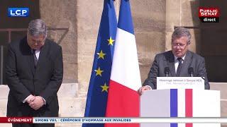 L'hommage très émouvant à Simone Veil par son fils, Jean Veil