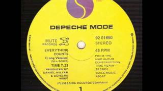 Depeche Mode - Everything Counts (In Larger Amounts)