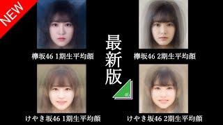 【最新版】欅坂46&けやき坂46 平均顔-Keyakizaka46 Average faces - 欅坂46 検索動画 23
