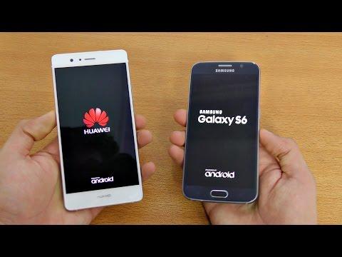 Huawei P9 Lite Vs Samsung Galaxy S6 - Speed Test! (4K)