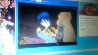 Regal Academy Rose and Hawk Moment