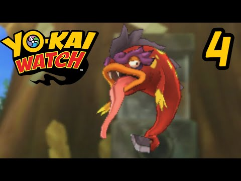 Yo-Kai Watch Episode 4 - A Fire Breathing Fish Yo-Kai?