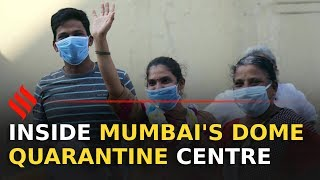 How Mumbai's dome quarantine model is treating Covid-19 | Mumbai Covid-19